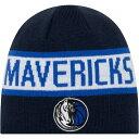 ショッピングニット帽 ニューエラ New Era メンズ ニット 帽子【Dallas Mavericks Reversible Sports Knit Hat】