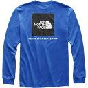 ショッピングnorth ザ ノースフェイス The North Face メンズ トップス 【Red Box Fashion Long Sleeve Shirt】Tnf Blue/Tnf Black