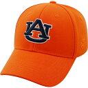 ショッピングD90 トップオブザワールド Top of the World メンズ キャップ 帽子【Auburn Tigers Orange Premium Collection M-Fit Hat】