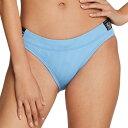 スピード Speedo レディース ボトムのみ 水着・ビーチウェア【Stripe Logo Bikini Bottoms】Robbia Blue