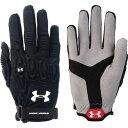 アンダーアーマー Under Armour レディース ラクロス グローブ【Illusion Lacrosse Field Gloves】Black