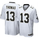 ショッピングジャージ ナイキ Nike メンズ トップス 【New Orleans Saints Michael Thomas #13 Home White Game Jersey】