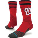スタンス Stance ユニセックス ソックス インナー・下着【Washington Nationals Diamond Pro Crew Socks】