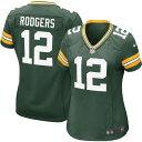 ショッピングナイキ tシャツ メンズ ナイキ Nike レディース トップス 【Home Game Jersey Green Bay Packers Aaron Rodgers #12】
