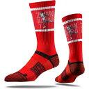 ショッピングダンク ストライドライン Strideline ユニセックス ソックス インナー・下着【New Orleans Pelicans Zion Williamson Dunk Red Crew Socks】