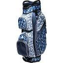 グローブイット Glove It レディース ゴルフ カートバッグ【15-Way Cart Golf Bag】Blue Leopard