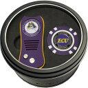チームゴルフ Team Golf ユニセックス ゴルフ 【East Carolina Pirates Switchfix Divot Tool and Poker Chip Ball Marker Set】
