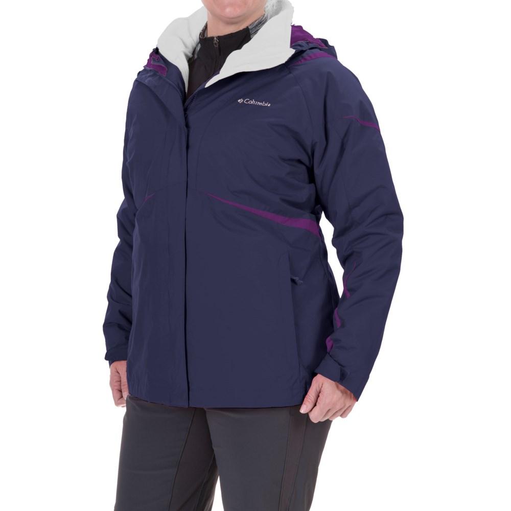 コロンビア Columbia Sportswear レディース アウター ジャケット【Blazing Star Interchange Jacket - Waterproof, 3-in-1 】Nightshade コロンビア レディース アウター ジャケット 【サイズ交換無料】