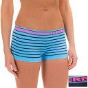 RBX RBX レディース インナー パンティー【Seamless Panties - 2-Pack, Boy Short 】Blue St...