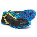 サレワ メンズ ランニング・ウォーキング シューズ・靴【Lite Train Trail Running Shoes】Black/Kamille