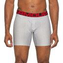 ショッピングインナー アンダーアーマー Under Armour メンズ ボクサーパンツ インナー・下着【Tech Boxerjock Boxer Briefs - 6】Mod Gray Light Heather