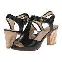ロックポート Rockport レディース シューズ・靴 パンプス【Seven to 7 75mm T-Strap Sandal】Black Vegtan/Patent