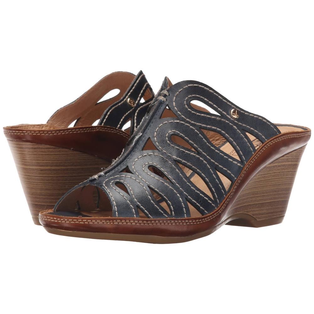 ピコリノス レディース シューズ・靴 サンダル・ミュール【Capri W8F-0725】Ocean/Brandy ピコリノス レディース シューズ・靴 サンダル・ミュール Ocean/Brandy 【サイズ交換無料】