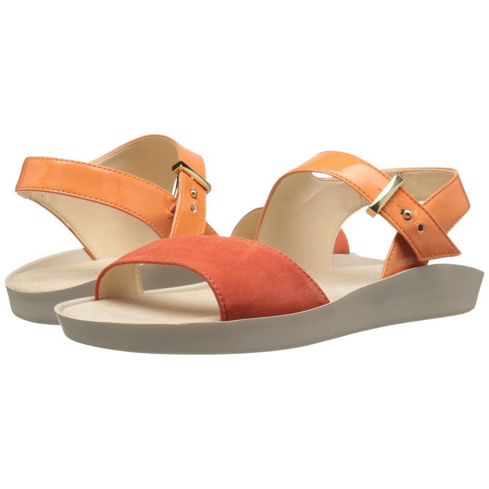 ナインウェスト レディース シューズ・靴 サンダル・ミュール【Izara3】Orange/Red Synthetic ナインウェスト レディース シューズ・靴 サンダル・ミュール Orange/Red Synthetic 【サイズ交換無料】