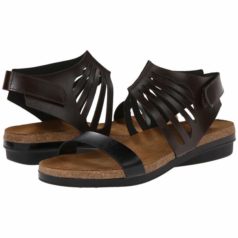 ナオトフットウェアー レディース シューズ・靴 サンダル・ミュール【Mint】Deep Brown/Deep Black ナオトフットウェアー レディース シューズ・靴 サンダル・ミュール Deep Brown/Deep Black 【サイズ交換無料】