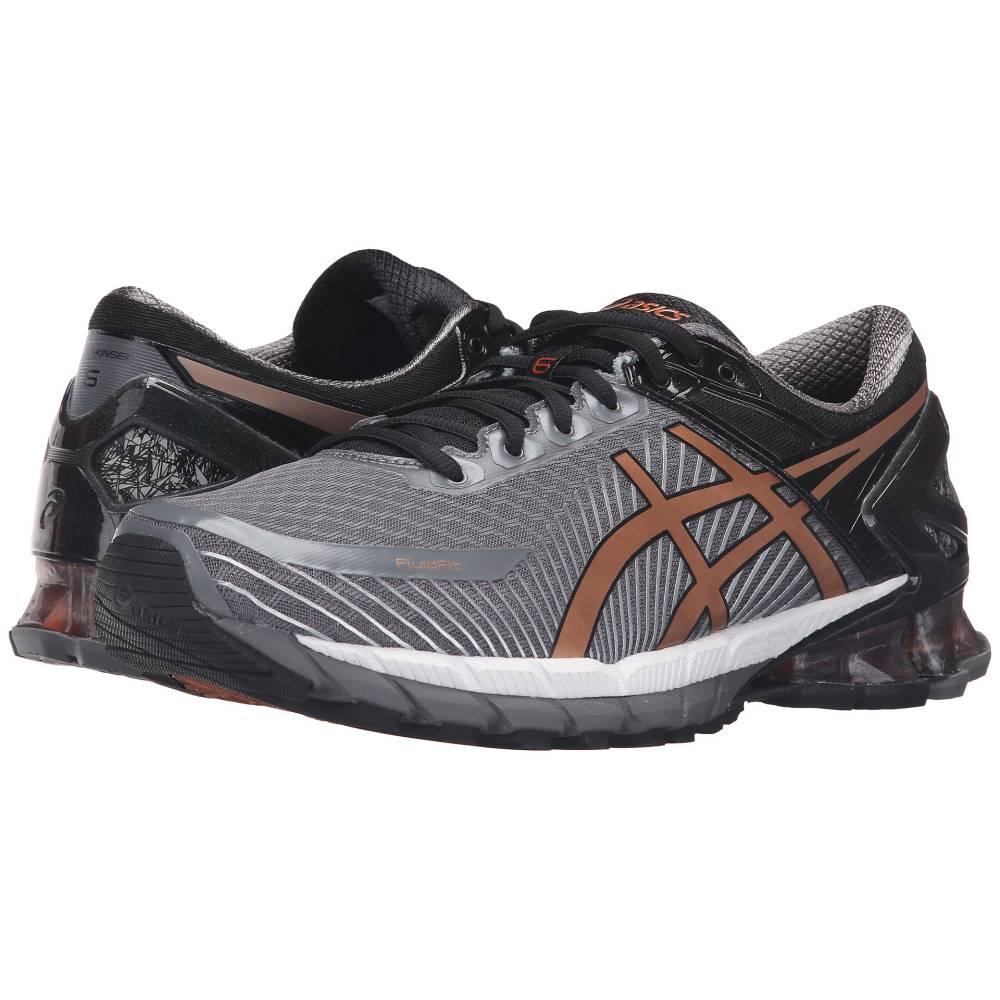 アシックス メンズ ランニング・ウォーキング シューズ・靴【GEL-Kinsei 6】Carbon/Copper/Black