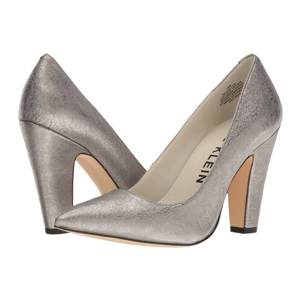 アン クライン レディース シューズ・靴 ヒール【Hollyn】Pewter Leather アン クライン レディース シューズ・靴 ヒール Pewter Leather 【サイズ交換無料】安いです