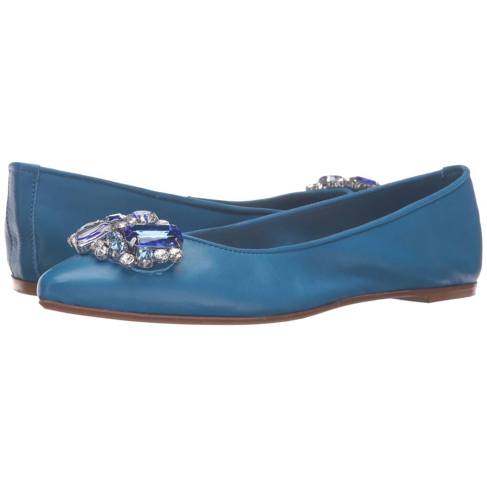 マッテオ マッシモ レディース シューズ・靴 スリッポン・フラット【Flat with Ornament】Royal Blue マッテオ マッシモ レディース シューズ・靴 スリッポン・フラット Royal Blue 【サイズ交換無料】【改善】