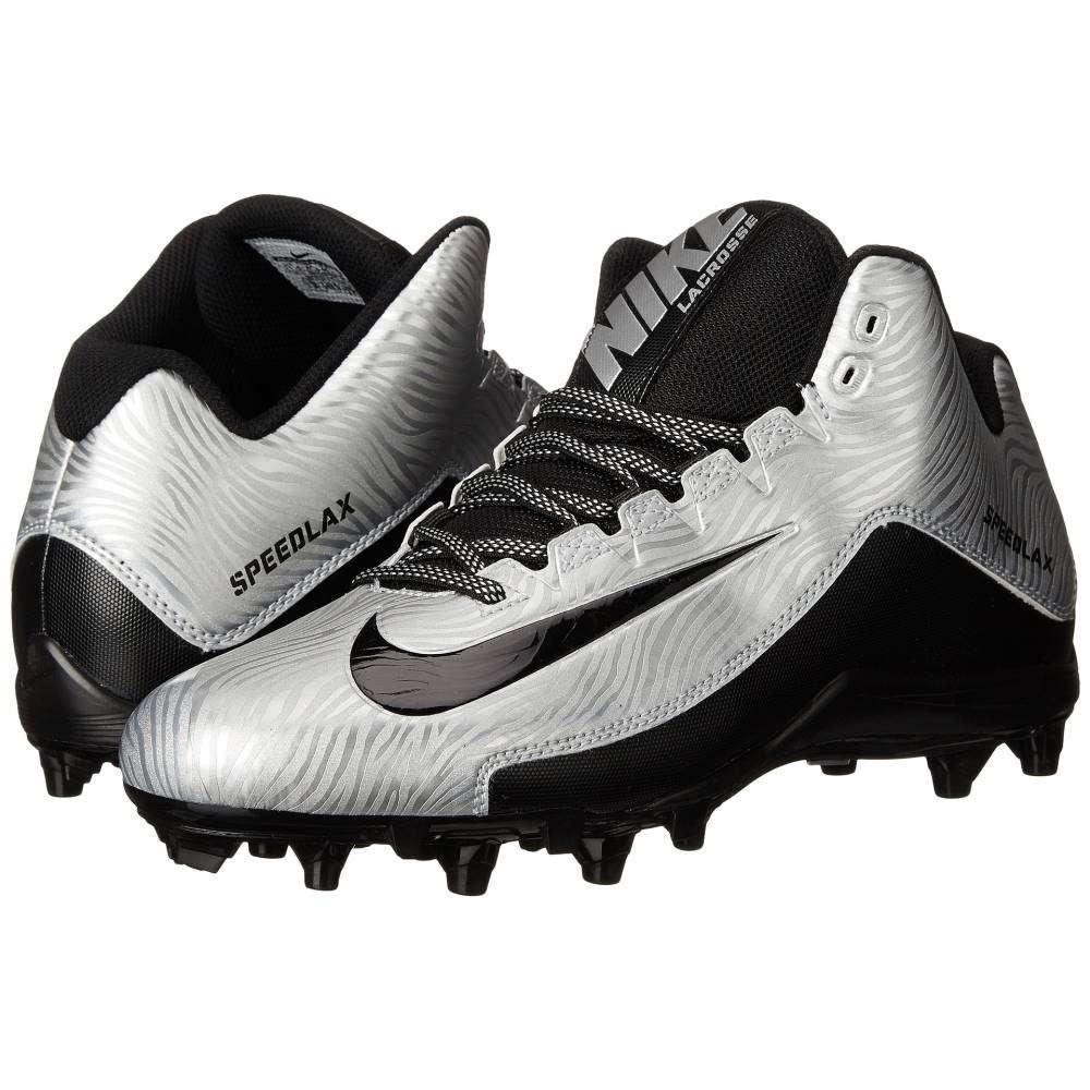 ナイキ メンズ ラクロス シューズ・靴【Speedlax 5】Metallic Silver/Black/Black