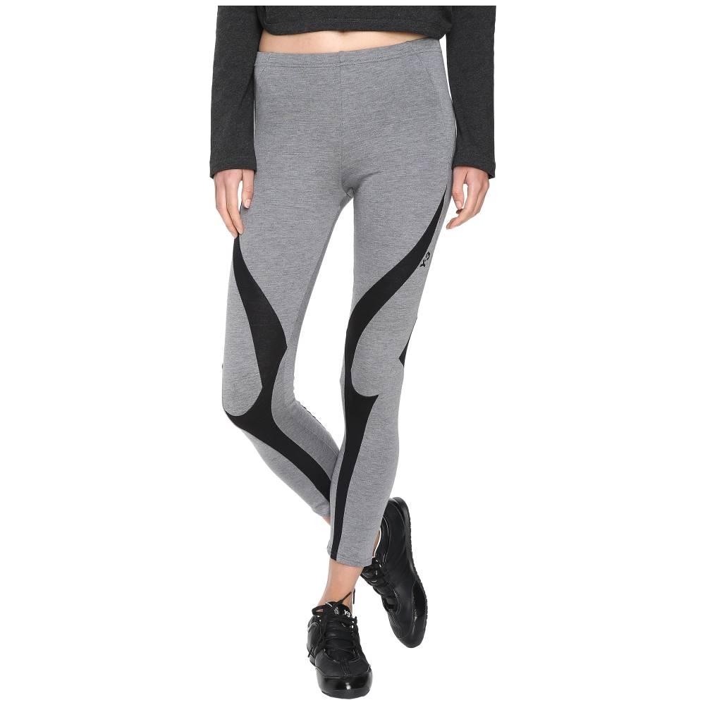 ワイスリー レディース インナー・下着 スパッツ・レギンス【Jersey Leggings】Mid Grey Heather/Black