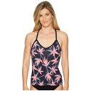 カーヴデザイン Carve Designs レディース 水着・ビーチウェア トップのみ【Catalina Tankini】Flamingo Palms