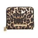 ショッピングレオパード ベッツィ ジョンソン Betsey Johnson レディース カードケース・名刺入れ 【zipper card case】Leopard