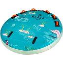 ショッピングうきわ レーダー Radar メンズ 雑貨 浮き輪【orion 2 marshmallow top towable tube】Islands/Sea Foam/Coral