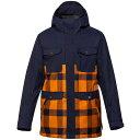 クイックシルバー メンズ スキー・スノーボード アウター【Reply Snowboard Jacket】Sudan Brown