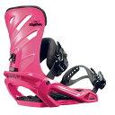 サロモン レディース スキー・スノーボード ビンディング【Rhythm Snowboard Bindings】Pink