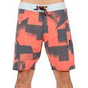 ボルコム メンズ 水着・ビーチウェア 海パン【Torne Stoney 19in Boardshorts】Bright Orange