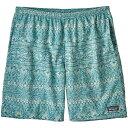 パタゴニア Patagonia メンズ ボトムス・パンツ ショートパンツ【Baggies Longs Shorts】Tradewinds/Mako Blue