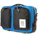 ショッピングpod トポ デザイン Topo Designs メンズ ビジネスバッグ・ブリーフケース バッグ【Global Briefcase Bag】Blue/Black Ripstop
