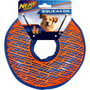 Nerf Dog ナーフドッグ ペットグッズ 犬用品 おもちゃ 【Squeaker TPR Force Grip Ring Dog Toy, 8.5-in】