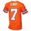 ミッチェル&ネス Mitchell & Ness メンズ トップス【Denver Broncos Adult John Elway Reti...