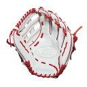 ルイスビルスラッガー Louisville Slugger ユニセックス 野球 グローブ【TPS 13 Inch Right Hand Throw Slow Pitch Softball Glove】Wh..