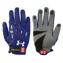 アンダーアーマー Under Armour レディース ラクロス グローブ【Player 2 Lacrosse Glove】Navy