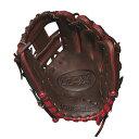 ルイスビルスラッガー Louisville Slugger ユニセックス 野球 グローブ【TPX 11.5 Inch Right Hand Throw Baseball Glove】Dark Brown