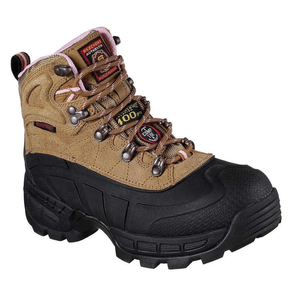 スケッチャーズ Skechers レディース シューズ・靴 ブーツ【Radford Ligonier Composite Toe Boot】Brown