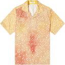 ショッピングバンダナ ルード Rhude メンズ 半袖シャツ トップス【Bandana Print Point Shirt】Orange/Yellow