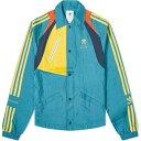 ショッピングベッド アディダス Adidas Consortium メンズ ジャケット アウター【x Bed JW Ford Bench Jacket】Rich Green/Yellow
