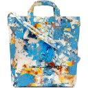 ショッピングNTB コム デ ギャルソン Comme des Garcons SHIRT メンズ トートバッグ バッグ【Futura Print B Tote Bag】Blue Mix