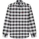 ショッピングフレッドペリー フレッドペリー Fred Perry Authentic メンズ シャツ トップス【Button Down Tartan Shirt】White