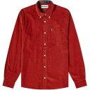ショッピングアーメン バブアー Barbour メンズ シャツ トップス【cord 2 tailored shirt】Rust