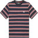 ショッピングSTUSSY ステューシー Stussy メンズ Tシャツ トップス【harbour stripe tee】Black