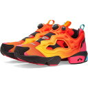 ショッピングソーラー リーボック Reebok メンズ スニーカー シューズ・靴【x chromat instapump fury】Solar Orange/Yellow/Black