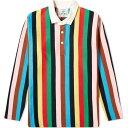 ローイング ブレザーズ Rowing Blazers メンズ ポロシャツ トップス【croquet stripe rugby shirt】Multi