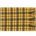 ショッピングnorth ノースプロジェクト Norse Projects メンズ マフラー・スカーフ・ストール 【lambswool check scarf】Montpellier Yellow