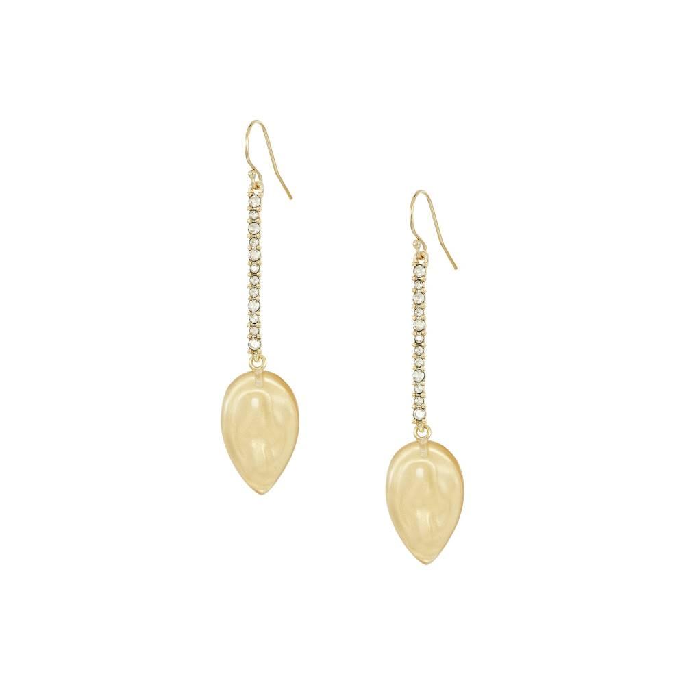 アレクシス ビッター Alexis Bittar レディース アクセサリー イヤリング・ピアス【Crystal Encrusted Liquid Silk Drop Earrings】Polished Gold アレクシス ビッター レディース アクセサリー イヤリング・ピアス 【サイズ交換無料】【ほそい】
