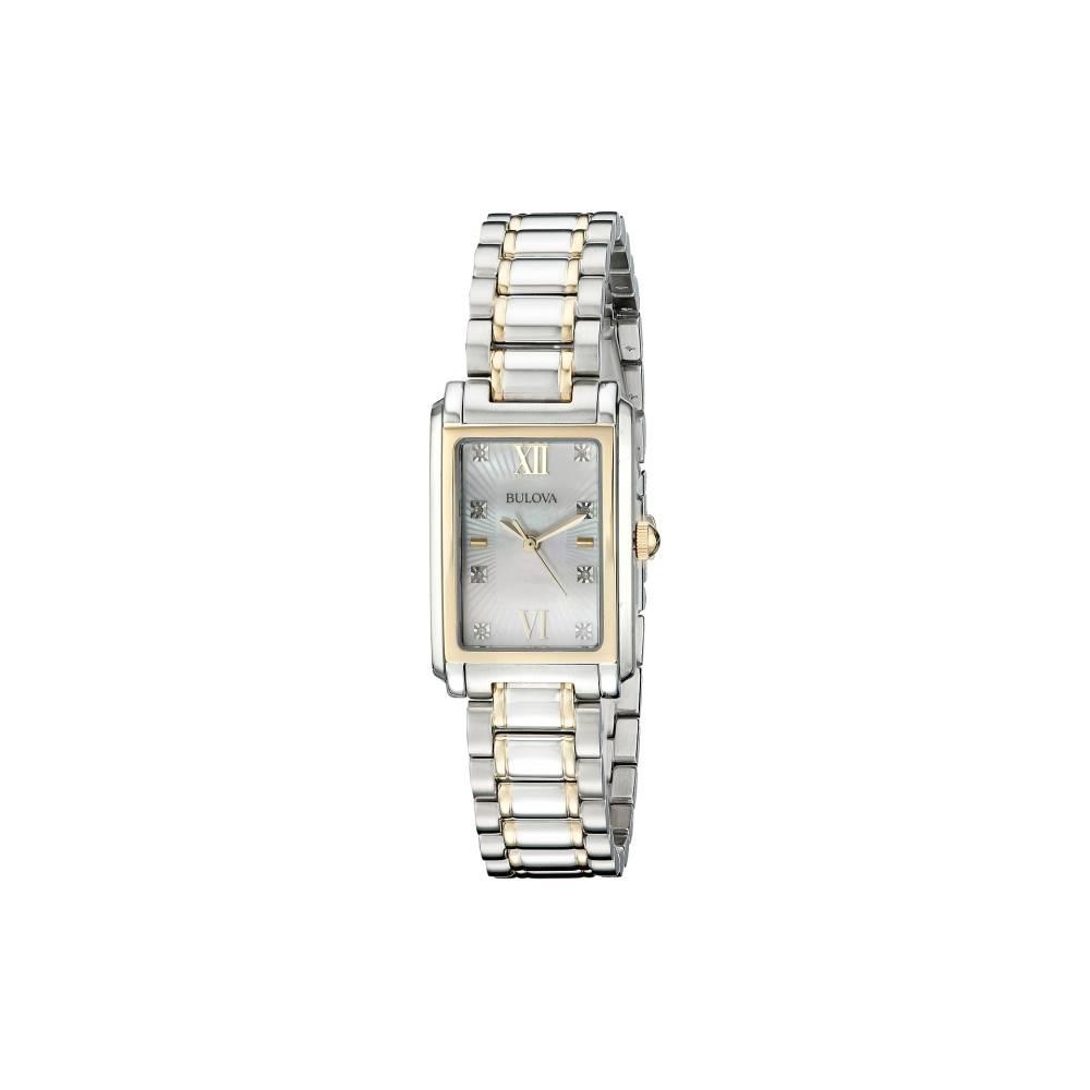 ブローバ Bulova レディース アクセサリー 腕時計【Diamonds - 98P144】Two-Tone ブローバ レディース アクセサリー 腕時計 【サイズ交換無料】