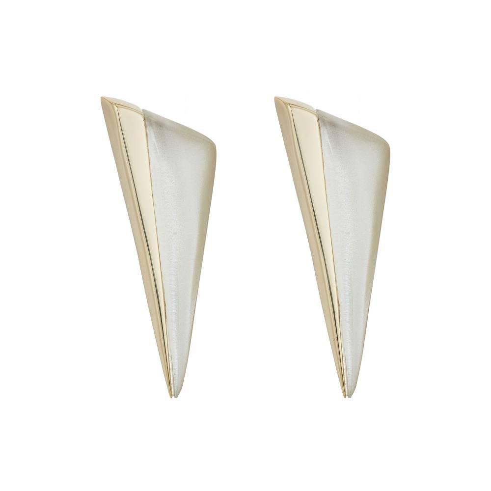 アレクシス ビッター Alexis Bittar レディース アクセサリー イヤリング・ピアス【Angled Pyramid Post Earrings】Silver アレクシス ビッター レディース アクセサリー イヤリング・ピアス 【サイズ交換無料】